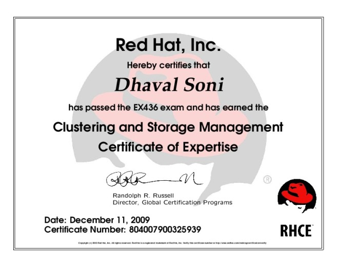 Red Hat - Red Hat Enterprise Clustering and Storage Management ...
