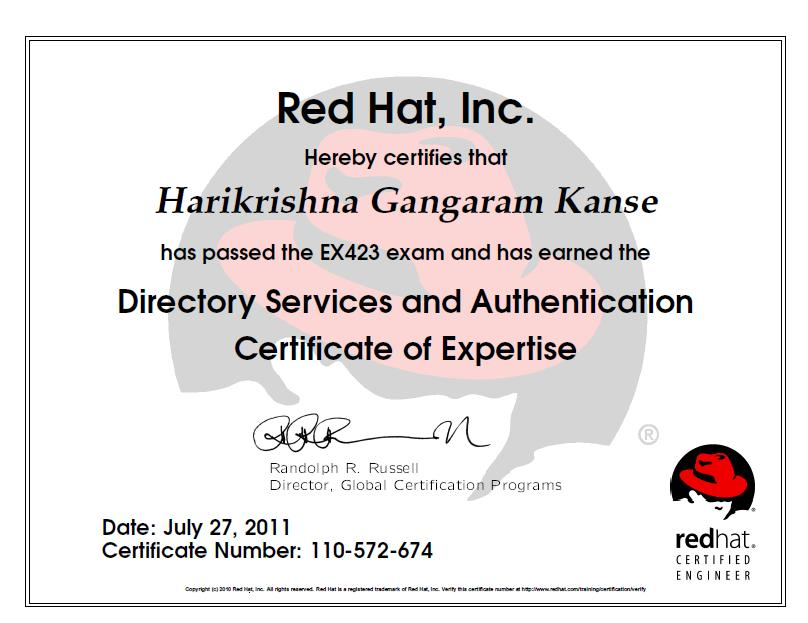 Red Hat Enterprise Directory Services and Authentication at